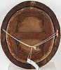 Uknown artist 18th century. oval, relined canvas 35 x 31 cm. period frame.