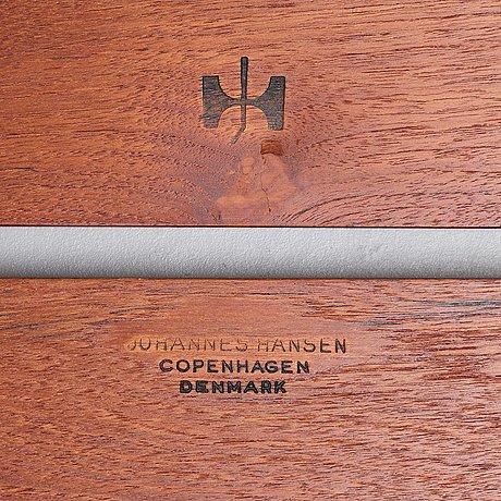 """Hans j wegner, bänk, """"jh 574"""" johannes hansen, danmark, 1950-60-tal."""