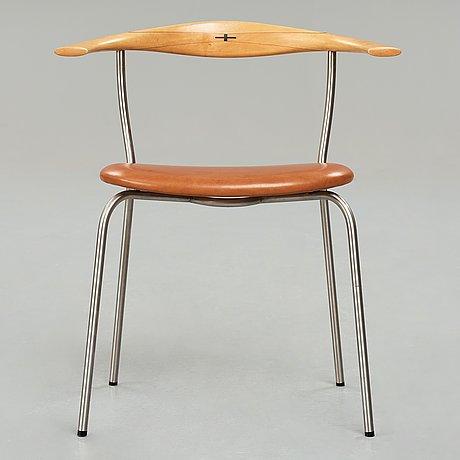 """Hans j wegner, a """"jh 701"""" chair for johannes hansen, denmark, 1960-70's."""