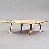 Hans j wegner, soffbord, utställningsexemplar för andreas tuck, danmark, 1967.