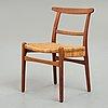 Hans j wegner, stol, prototyp, carl hansen & søn, danmark 1950-tal.