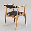 "Hans j wegner, a model ""ch34"" chair, ""Åget"", for carl hansen & søn, denmark 1960's."