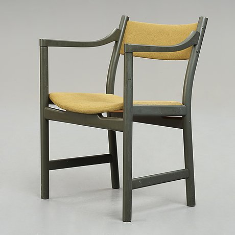 "Hans j wegner, karmstol, ""ch50"", carl hansen & søn, danmark, 1950-60-tal."