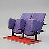 """Hans j wegner, ett par biografstolar, """"ge30"""", getama, danmark, 1970-tal."""