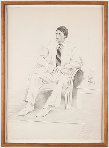 "David hockney, ""joe mcdonald""."