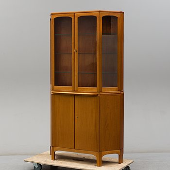 A second half of the 20th Century 'Undantaget' display cabinet by Carl Malmsten,