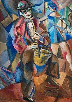 608. Jules Schyl, Saxofonist.