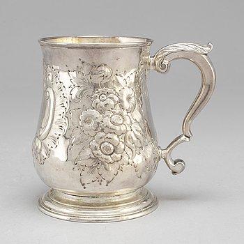 JOHN SWIFT, sejdel, silver, London 1752.