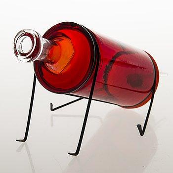 MARKKU SALO, glass sculpture, year dog, signed Markku Salo, Nuutajärvi 2014, numbered 78/100.