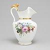 A circa 1900 porcelain pitcher, bing & grøndahl, denmark