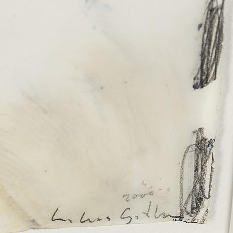 Lukas gÖthman, acrylic on plastic film, signed.