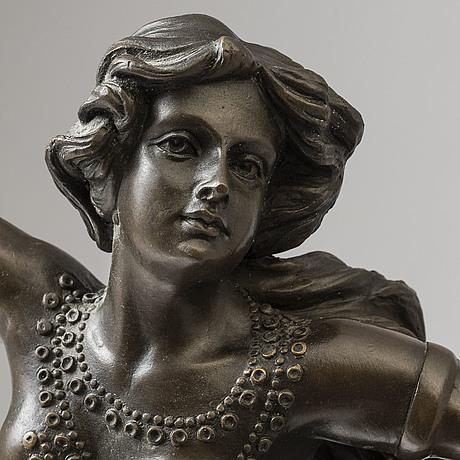 Claire jeanne roberte colinet, efter. skulptur, brons, höjd 64 cm