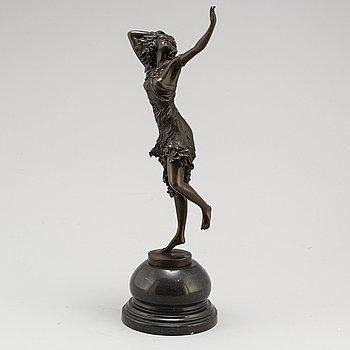 CLAIRE JEANNE ROBERTE COLINET, Efter. Skulptur, brons, höjd 42 cm.