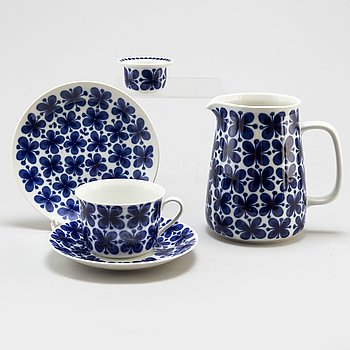 A Marianne Westman 'Mon Amie' part coffee and tea service, for Rörstrand (21 pieces).