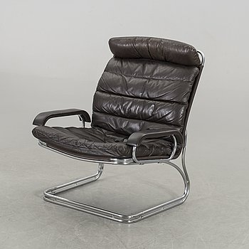"""A """"Fuga"""" John Mortensen armchair for Thams Furniture, Denmark."""