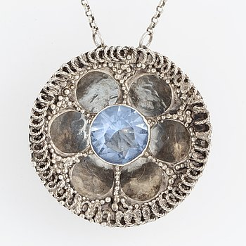 ROSA TAIKON, necklace sterling silver.
