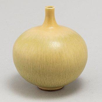 BERNDT FRIBERG, a stoneware vase, Gustavsberg Stuido, year mark K.