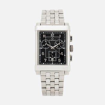 ETERNA, armbandsur, kronograf, 38 x 18 mm.
