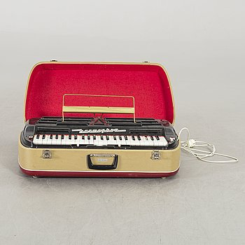 An electric piano west Germany mid 1900's.