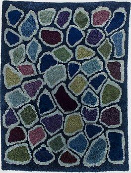 RAUHA AARNIO, a Finnish rya rug. Circa 200x150 cm.