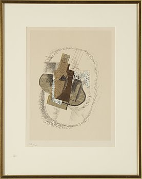 GEORGE BRAQUE, after, lithograph, numbered 128/300.