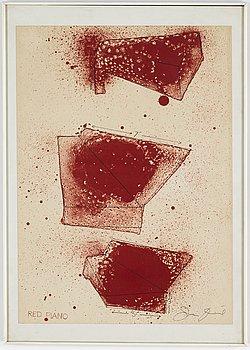 JIM DINE, litografi, signerad.