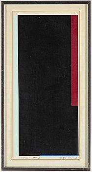 OLLE BAERTLING, serigrafi, signerad och numrerad 139/300, daterad 1951-68.
