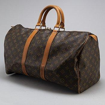"LOUIS VUITTON, weekendbag, ""Keepall 45""."
