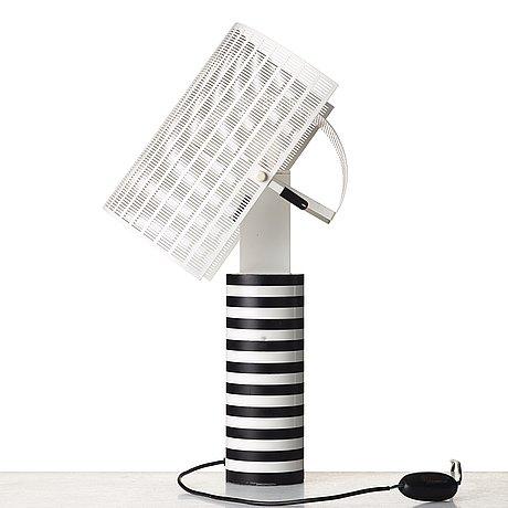"""Mario botta, a """"shogun"""" table lamp for artemide, italy post 1986."""