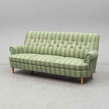 """CARL MALMSTEN, soffa """"Hemmakväll""""."""