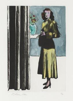 """411. Richard Hamilton, """"Patricia Knight I (coloured)""""."""