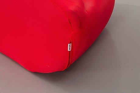 "Studio 65, ""the bocca lip sofa"", gufram, italy."