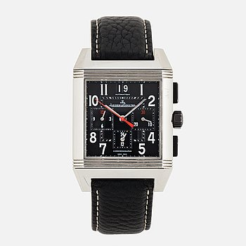 JAEGER LECOULTRE, Reverso Squadra, wristwatch, Chronograph, 50 x 34 mm.
