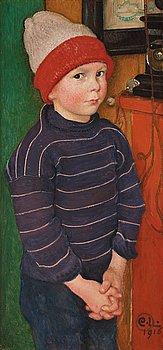 "340. Carl Larsson, ""Elof"" / ""Lille Elof"" (Elof/Little Elof)."