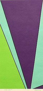 OLLE BAERTLING, färgserigrafi signerad daterad och numrerad 1969-74 E/A.