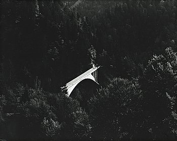 LENNART OLSON, gelatin silver print signed on verso.