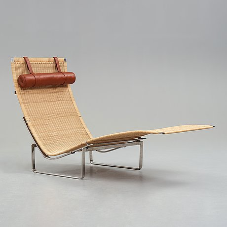 "Poul kjaerholm, a hammock chair, ""pk-24"" for fritz hansen, denmark 1999."