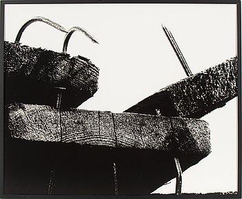 LENNART OLSON, gelatinsilverfotografi monterat på kapa, signerat med blyerts a tergo.