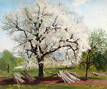 """43. Carl Fredrik Hill, """"Det blommande fruktträdet""""."""
