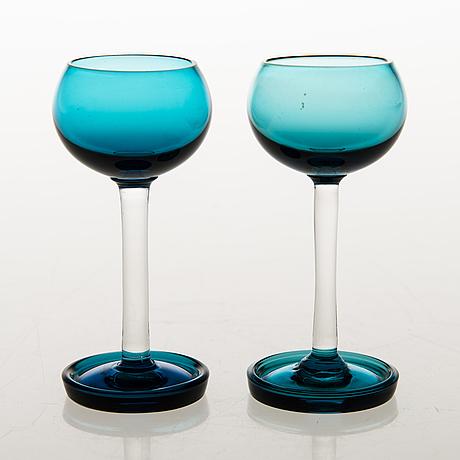 Nanny still, nine 1960s 'harlekiini' glass objects for riihimäen lasi, finland 1958 1968