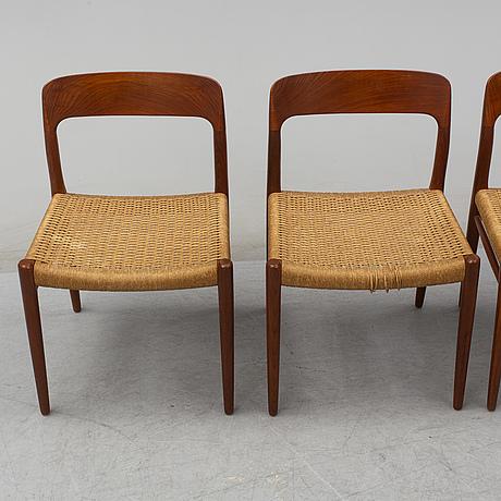 60's teak chairs