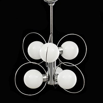 A CEILING LAMP, second half of 20th century.