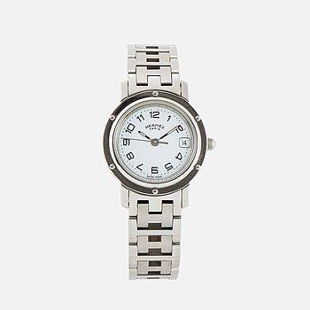 "HERMÈS, ""Clipper Diver Watch"", armbandsur, 24 mm."