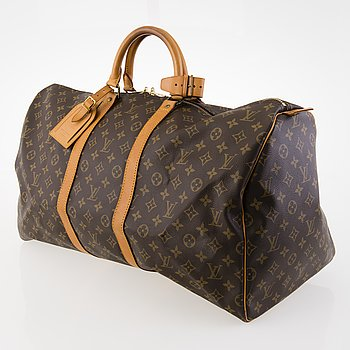 "LOUIS VUITTON, ""Keepall 55"", VÄSKA."