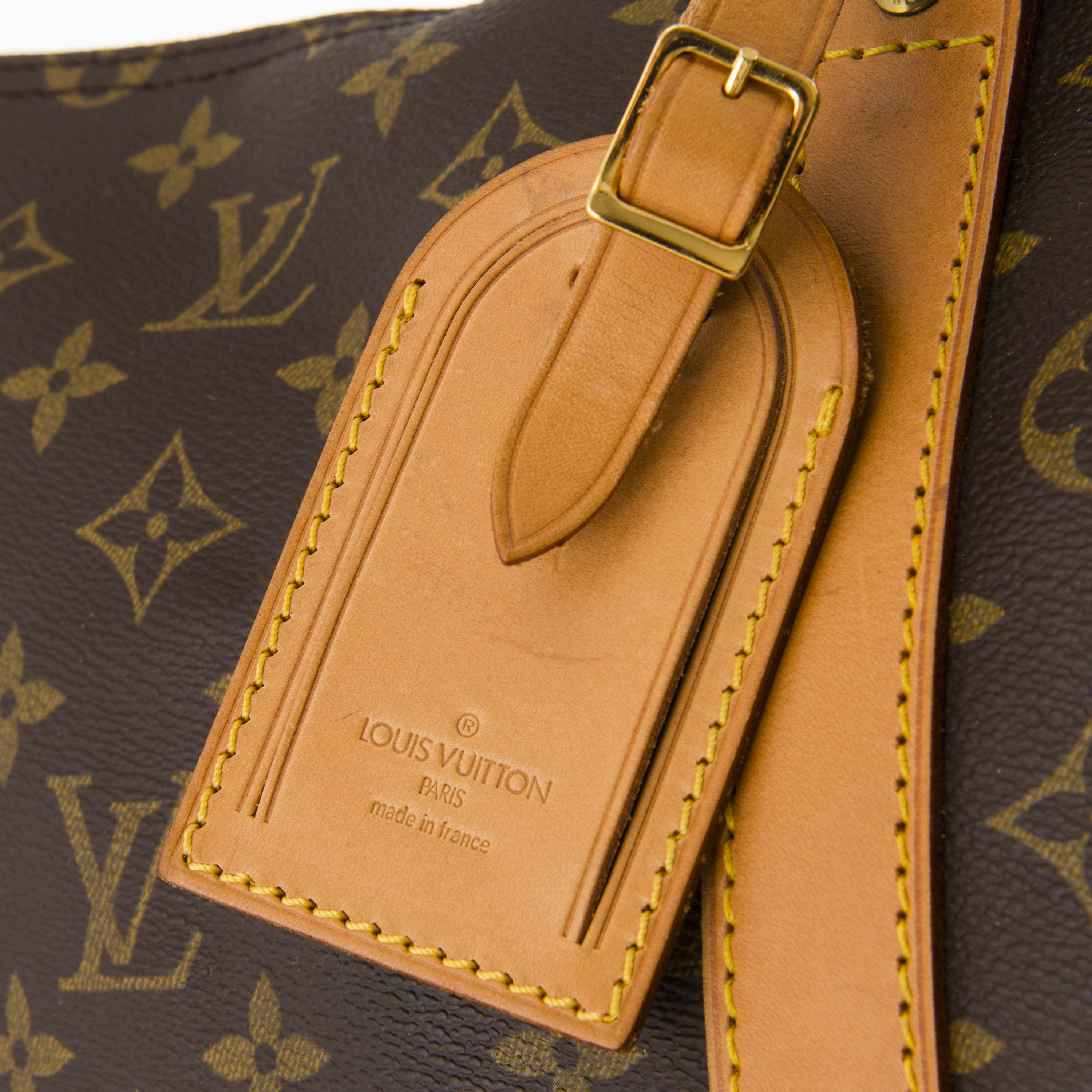 Images For Images For Louis Vuitton Made In France >> Louis Vuitton Vintage Monogram Keepall 55 Bag Bukowskis