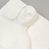 Tom otterman, a plaster sculpture 'leo' from 'the zodiac love series' 1982.