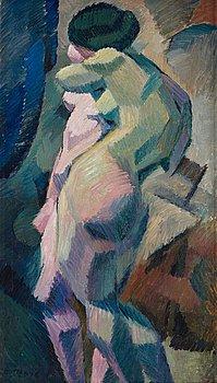 """386. Agnes Cleve, """"Nakenstudie""""."""