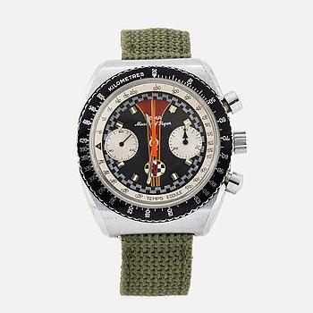 YEMA, Meangraf Super, armbandsur, kronograf, 37 mm.