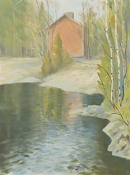 BORIS MIKOJAN, oil on canvas, signed and dated -78.