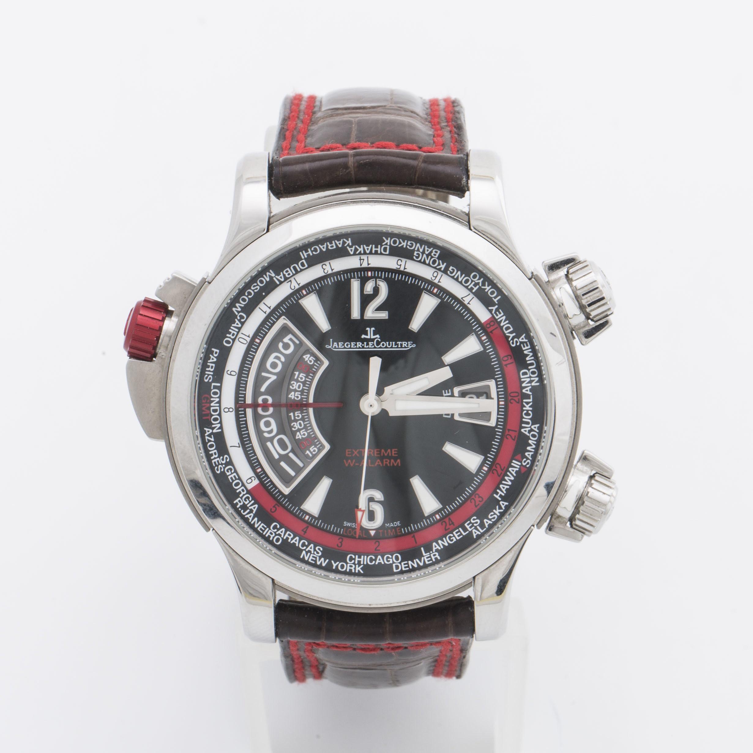 JAEGER-LECOULTRE, Master Compressor, Extreme W-Alarm, wristwatch, 46